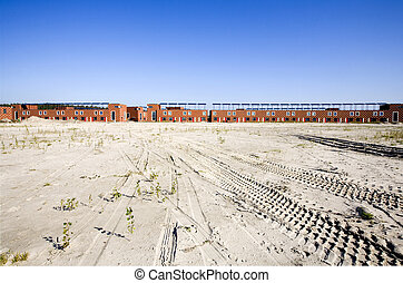 Construction site quot;Homeruskwartierquot; in Almere, the...