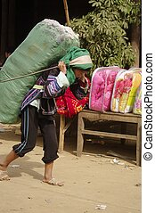Ha Nhi ethnic female - These women dressed as men are of an...