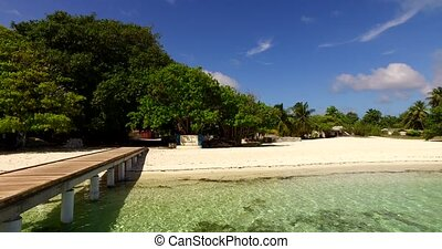 Maldives beautiful beach background white sandy tropical...