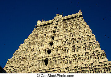 Temple Tower, Tiruvannamalai - Details of Arunachaleshwara...