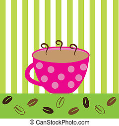 Coffee - Pink Coffee Mug