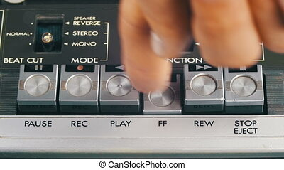 Pushing Play, Stop, Forward, Rewind, Pause and Record...