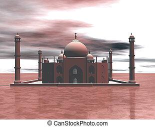 Taj Mahal - Digital visualization of the Taj Mahal