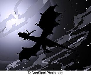 Dragon - Digital visualization of a dragon