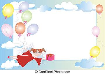 Birthday frame