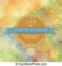 Abstract background, geometric design, vector illustration....