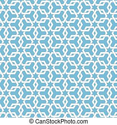Vector abstract geometric islamic background. Based on...