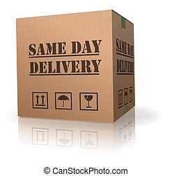 same day delivery - package delivery same day shipment...