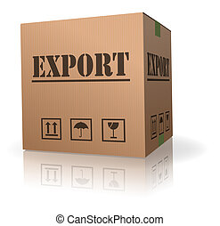 export sending cardboard box - export sending package...