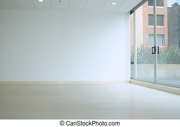 Empty room - Room with large window