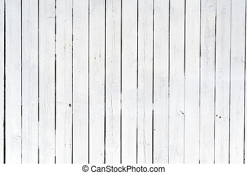 Old white wood panels - Painted wooden panels of white....