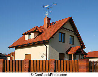 Single family home - New single family home in Poland...