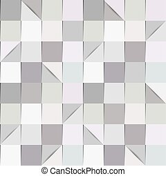 Folded paper background in shades of grey