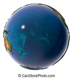 água, planeta,  natural, terra, realístico