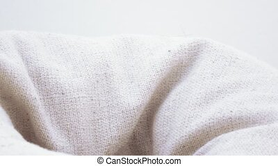 Hemp fabric cushions - Texture of hemp fabric cushions