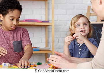 Preschool kids and activities