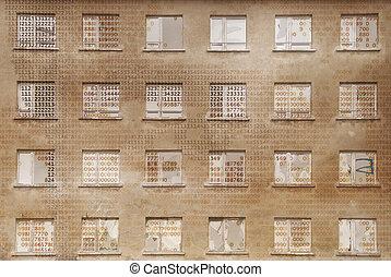 Facade - digital visualization of a facade