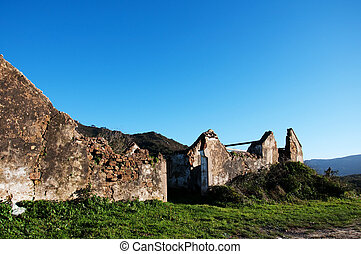 Old ruin - A derelict building in the countryside