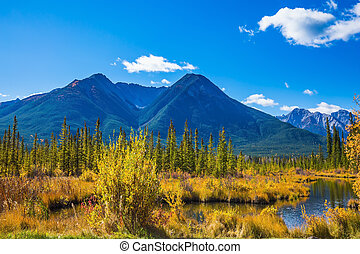 Day in the Canadian Rockies