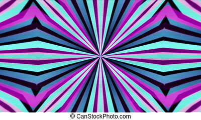 Retro VJ Lines looping animated background - VJ retro lines...