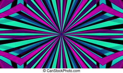 VJ retro lines abstract looping animated background - Retro...