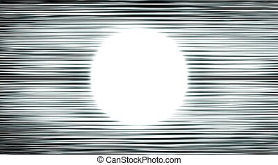 Abstract glowing lines background. Technological cyberspace...