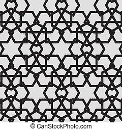 Vector abstract dotted geometric pattern background. Based...