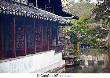 Garden of the Humble Administrator, Zhouzheng Yuan,...