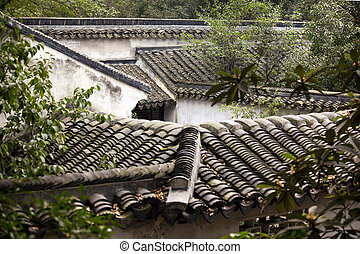 Rooftops Tile Garden of the Humble Administrator, Zhouzheng...