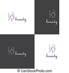 Vector logotype eps 10 about beauty industry or spa salon