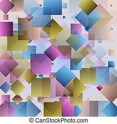 Modern colorful abstrakt y background with triangles and...