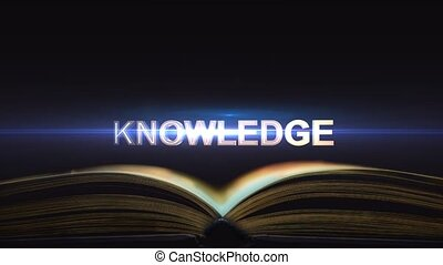 Knowledge comes from textbooks. Where does knowledge come from