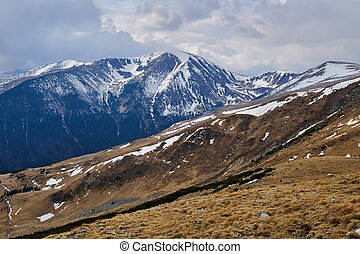 Parang mountains in Romania - Landscape with Parang...