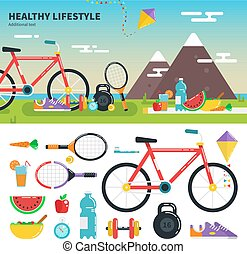 Recomendations for healthy lifestyle - Geometric...