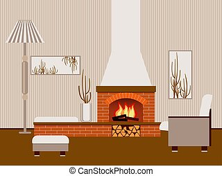 clipart vektor von mauerstein vektor kaminofen brick fireplace vektor csp34666158 suche. Black Bedroom Furniture Sets. Home Design Ideas
