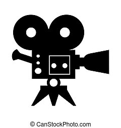 cinema camera icon - Film Award for the best film in the...