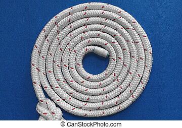 Rope round spiral