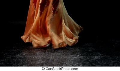 Woman dance with cane - editor cut