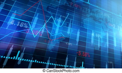 Stocks And Shares - Market Trading