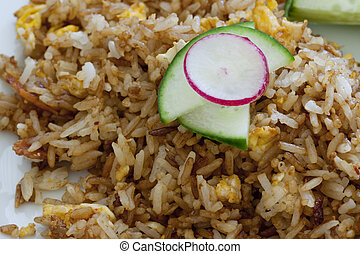 Chinese fried rice - Delicious spicy chinese or indonesian...