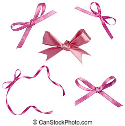 pink ribbon celebration christmas birthday - collection of...