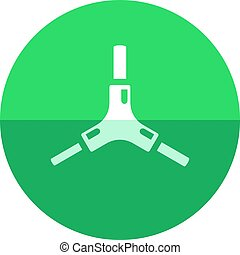 Circle icon - Allen key - Allen key icon in flat color...