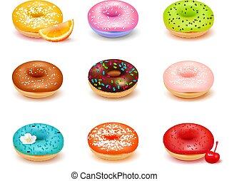 Donuts Assortment Set