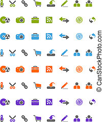 Icons for Web 2.0