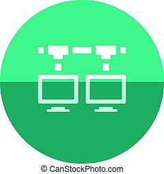 Circle icon - Local area network - Local area network icon...