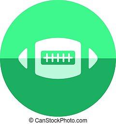 Circle icon - Football