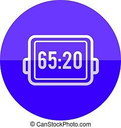 Circle icon - Score board