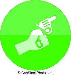 Circle icon - Starting gun