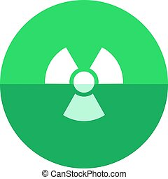 Circle icon - Radioactive symbol - Radioactive symbol icon...