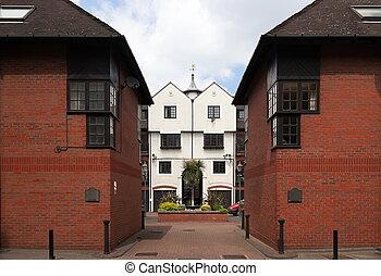 Modern Terraced Houses. London. UK.